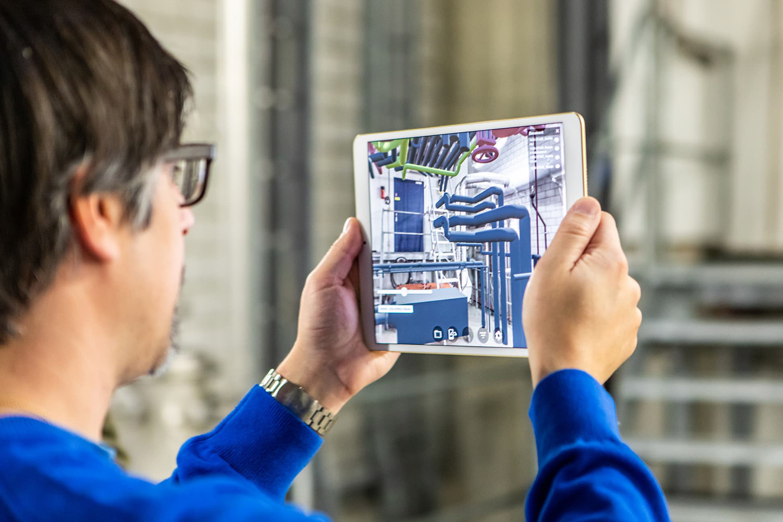 BIM Augmented Reality mit Unity Reflect aufs Tablet