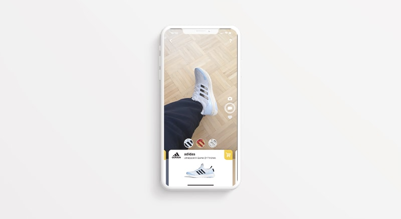 AR App Wanna Kicks